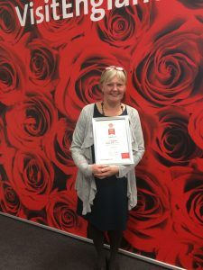 Proud winners of VisitEngland's Rose Award